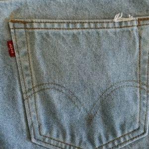 Levi's Shorts - LEVI'S Distressed High Rise 505 Shorts